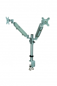 Gas Dual LCD Arm