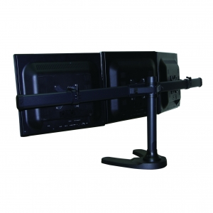 Curved Triple LCD Monitor Stand Free Standing