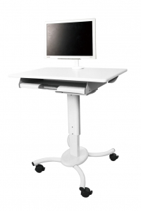 Mobile Cart with monitor Arm